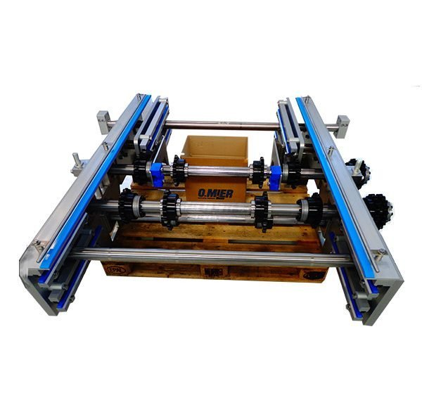 MULTI-CHAIN CONVEYOR BELTS FOR CHOCOLATE MOULDS