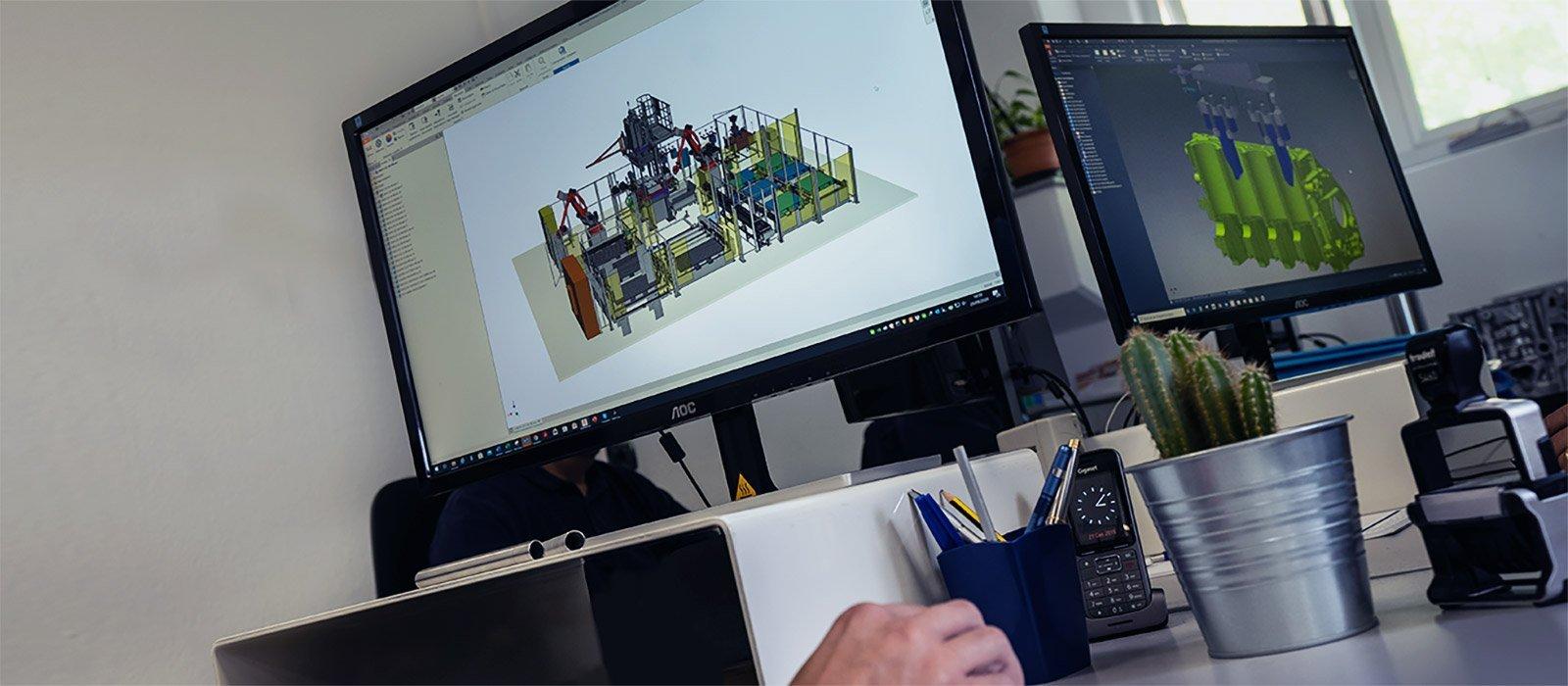 Ufficio progettazione - O.M.LER 2000